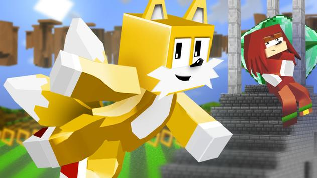 Mod of Sonic for Minecraft PE screenshot 1