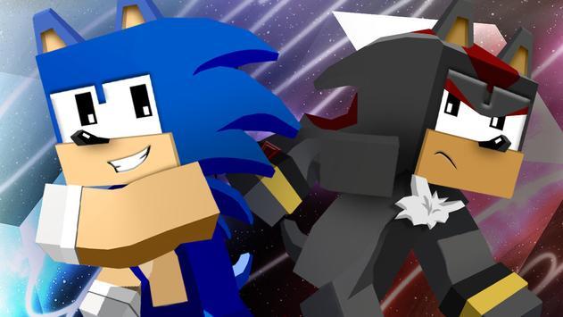 Mod of Sonic for Minecraft PE screenshot 2
