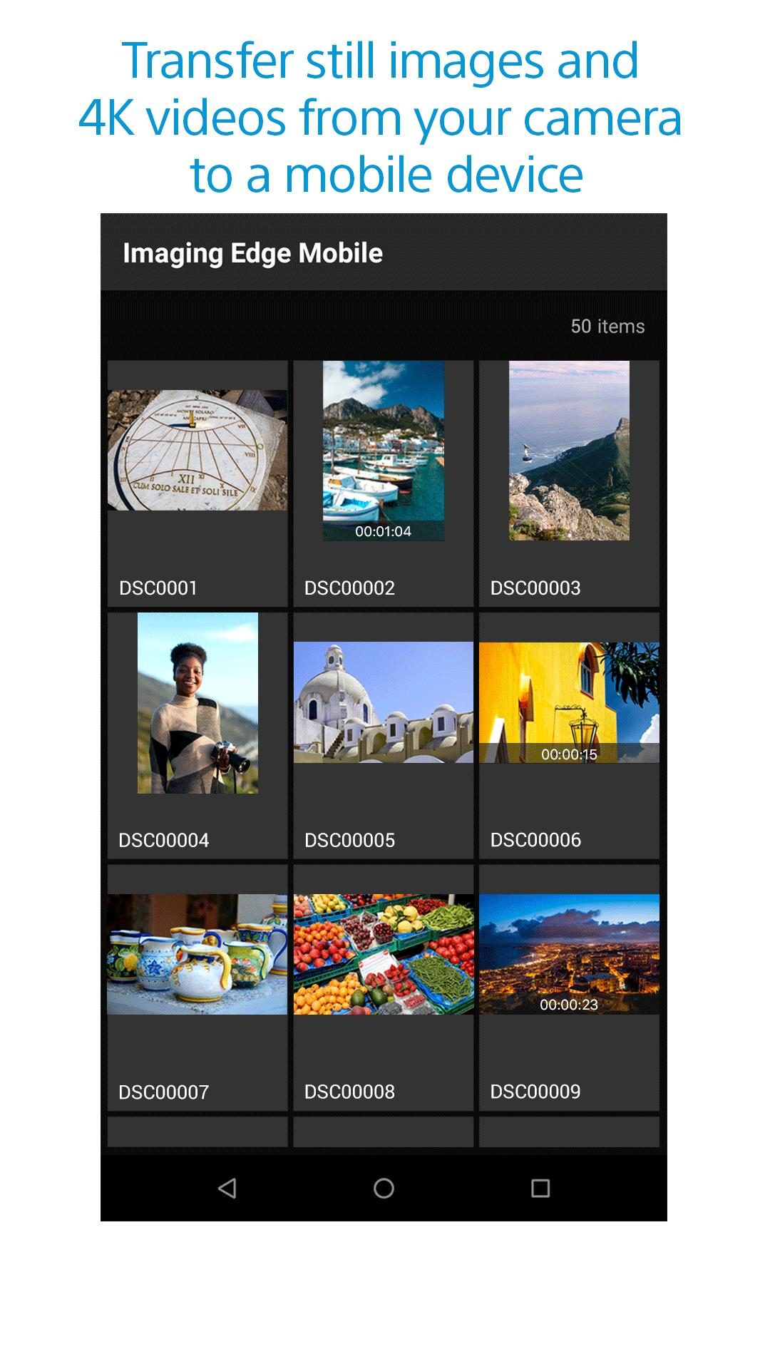 Imaging Edge Mobile for Android - APK Download
