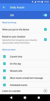Xperia Ear Duo screenshot 2