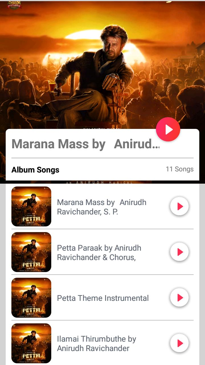 Petta Tamil Movie Songs for Android - APK Download