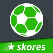 SKORES Live football - Bola Sepak Secara Langsung ikon