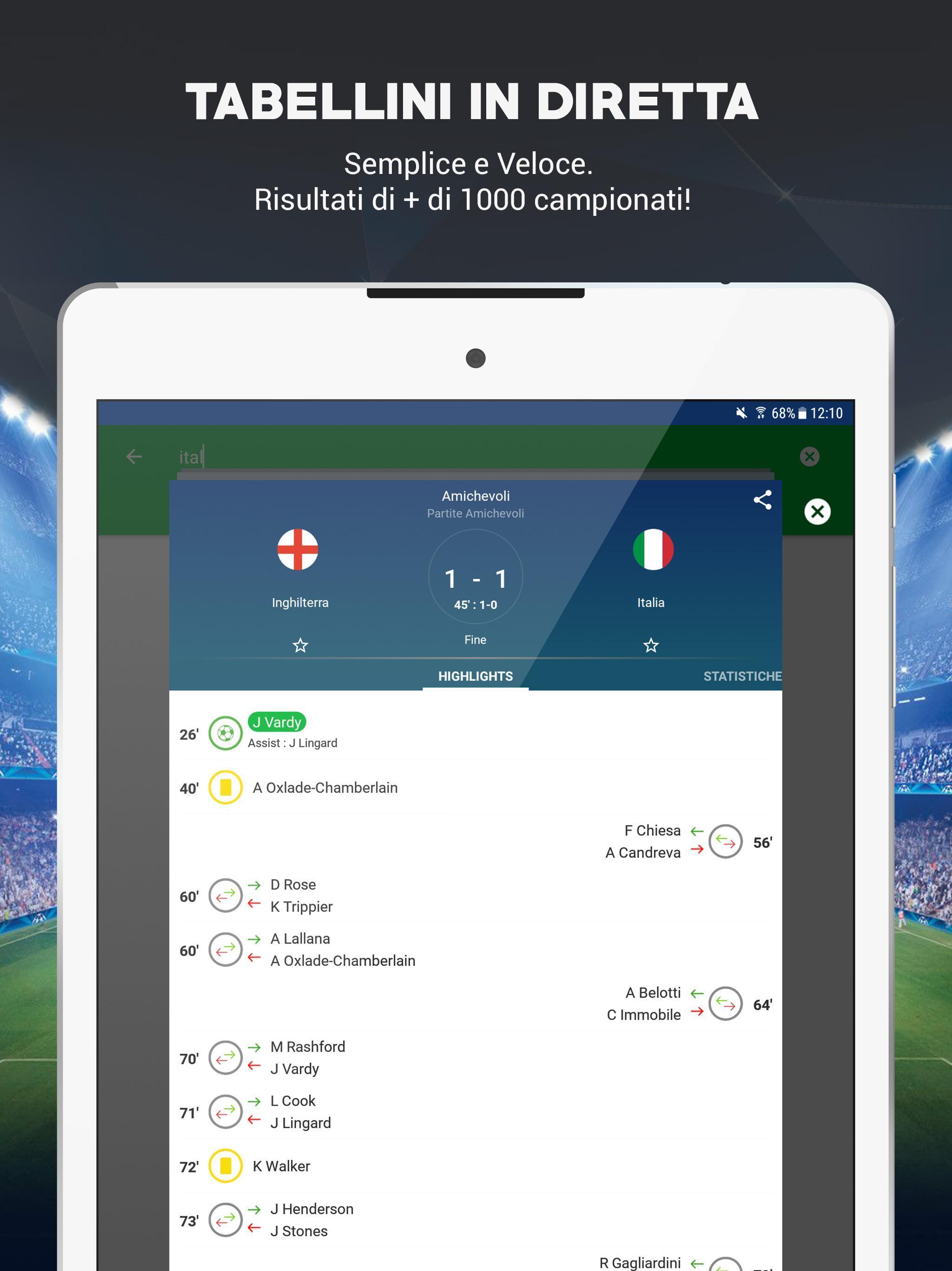 Skores Calcio In Diretta Risultati Calcio 2020 For Android Apk Download