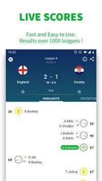 Skores -  Футбол онлайн скриншот 1