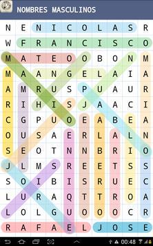 Sopa de Letras تصوير الشاشة 10