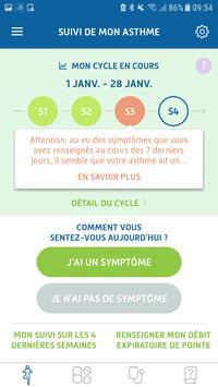 Asthm'Activ स्क्रीनशॉट 1