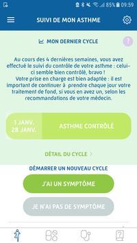 Asthm'Activ स्क्रीनशॉट 5