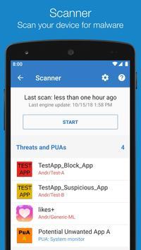 Sophos Mobile Security screenshot 1