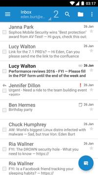 Sophos Secure Email 海报