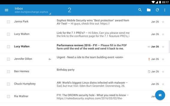 Sophos Secure Email 截图 7