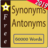 Synonym Antonym Learner : Vocabulary Builder icon