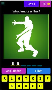 Guess the Battle Royale Emote/Dance poster