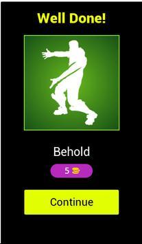 Guess the Battle Royale Emote/Dance screenshot 1