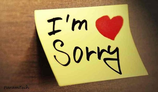 Sorry Messages Images pics screenshot 4