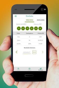 Loterias Sorte Online - Resultados imagem de tela 1