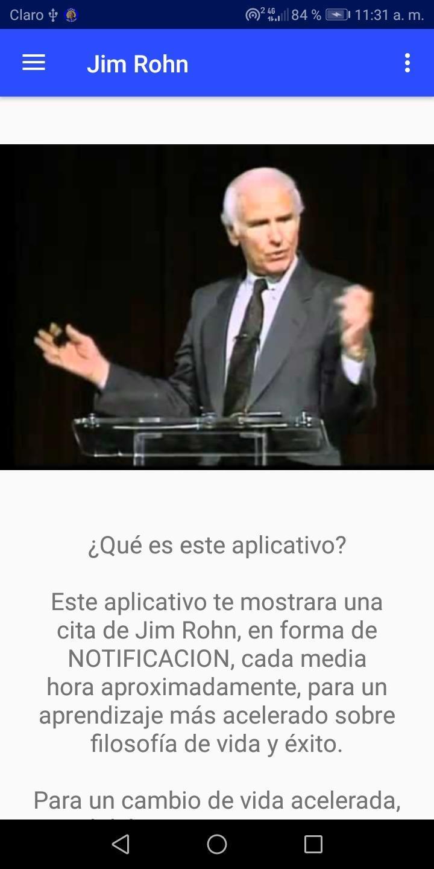 Citas De Jim Rohn Recordatorio De Frases Pour Android