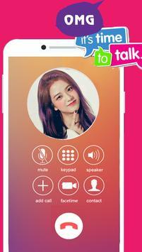 Chat Talk With Black Pink - Prank Kpop screenshot 3