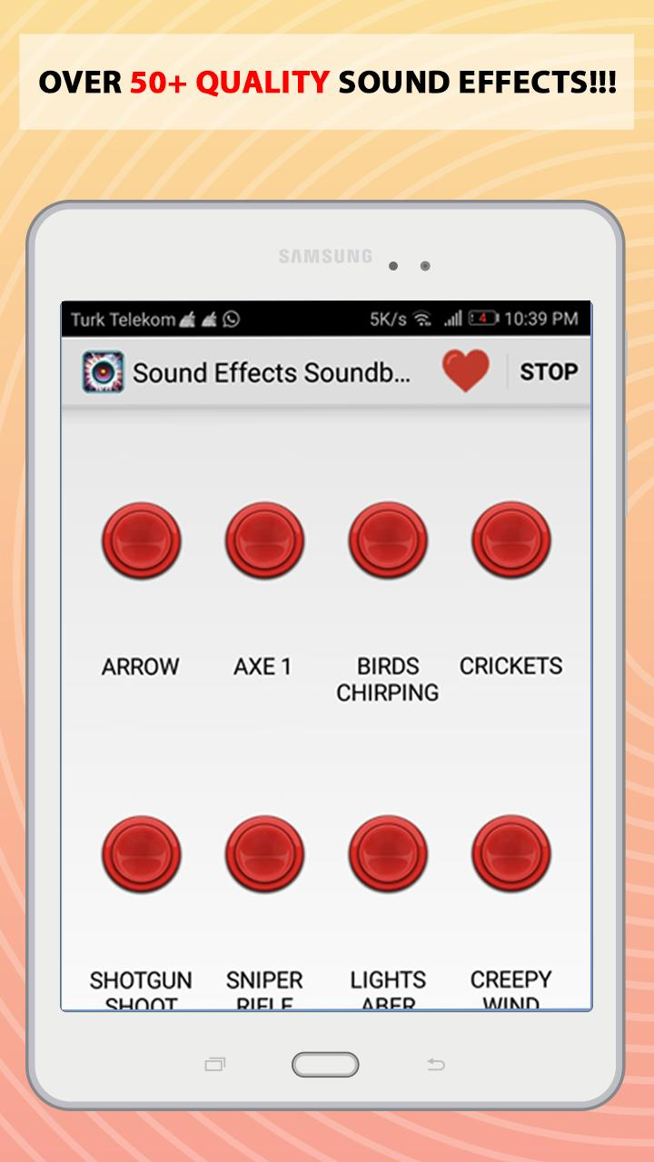 Sound Effects Soundboard cho Android - Tải về APK