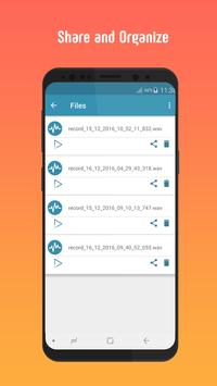 Smart Voice Recorder🎙 HD Audio Recording screenshot 2