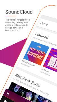 SoundCloud Plakat