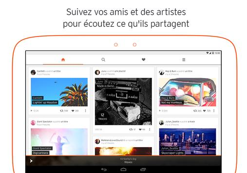 SoundCloud capture d'écran 7