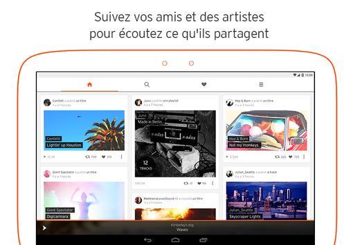 SoundCloud capture d'écran 5