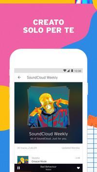 1 Schermata SoundCloud