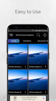 White Noise Airplane White Noise Plane Sleep Sound screenshot 1