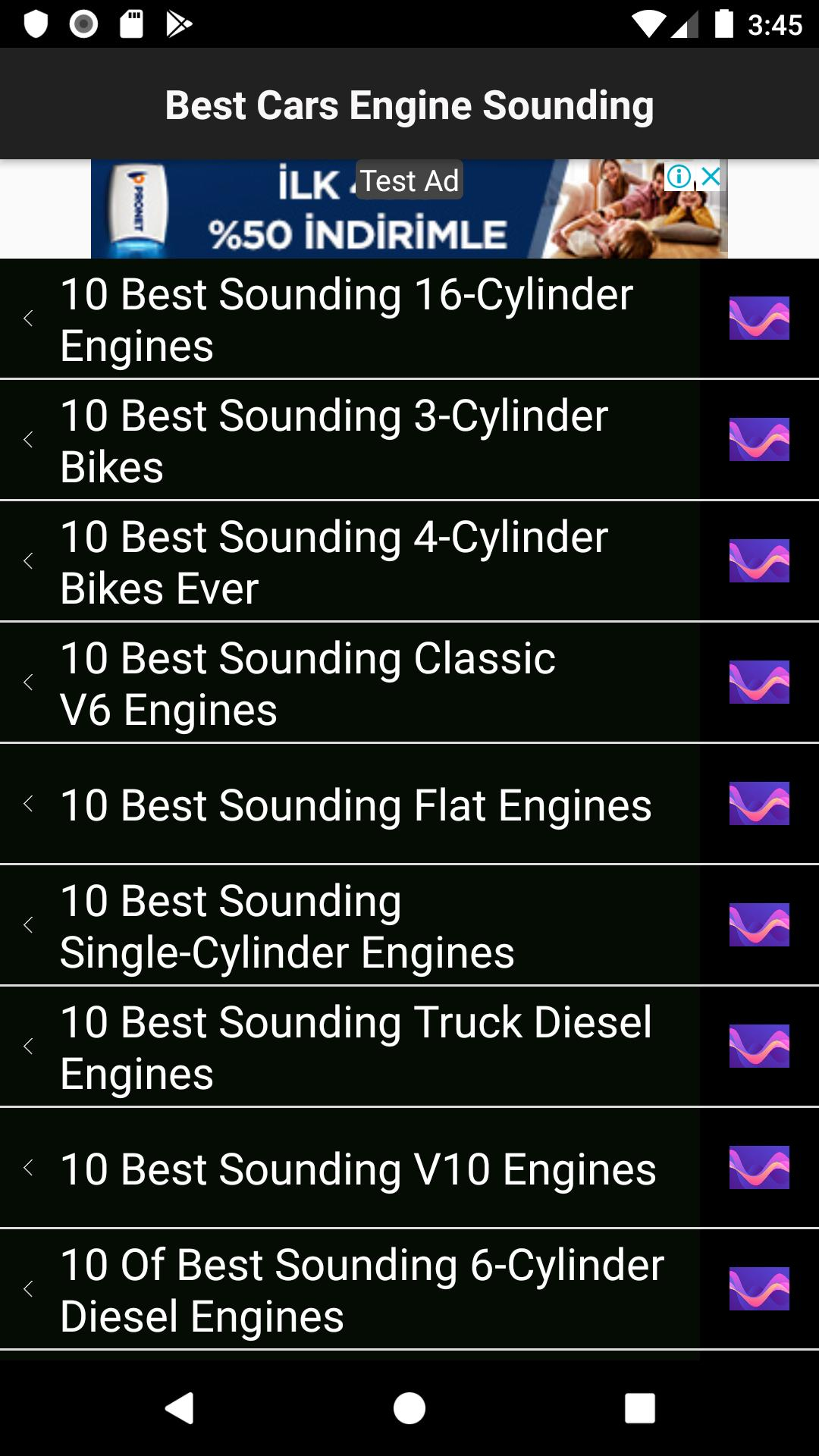 Cars Engine Sounding for Android - APK Download
