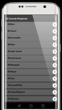 3D sounds ringtones screenshot 1