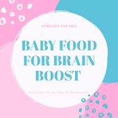 BABY FOOD FOR BRAIN BOOST icon
