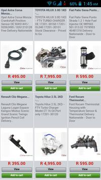 Auto Parts South Africa poster