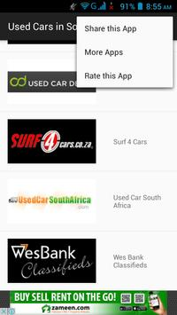 Buy Used Cars in South Africa screenshot 1