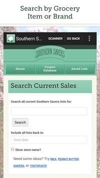 Southern Savers screenshot 1