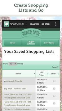 Southern Savers screenshot 2