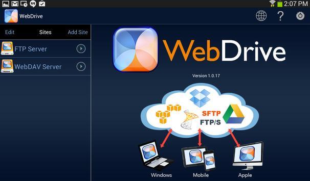 WebDrive, File Transfer Client screenshot 8