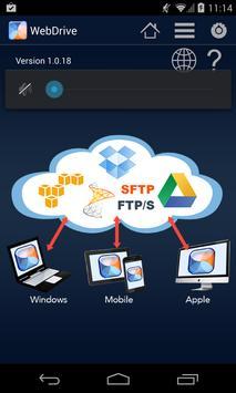 WebDrive, File Transfer Client poster