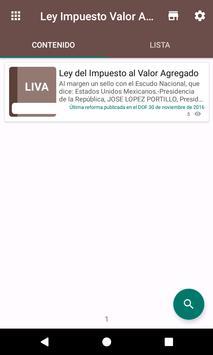 Ley del Impuesto al Valor Agregado (IVA) screenshot 1