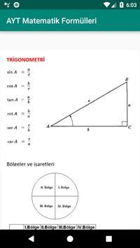 AYT matematik formülleri screenshot 3