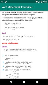 AYT matematik formülleri screenshot 5