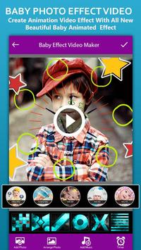 Baby Photo Effect Video Maker : Photo Animation poster