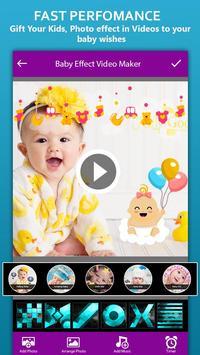 Baby Photo Effect Video Maker : Photo Animation screenshot 1