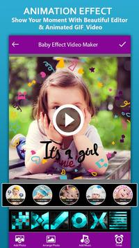 Baby Photo Effect Video Maker : Photo Animation screenshot 3