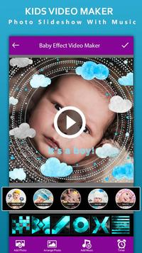 Baby Photo Effect Video Maker : Photo Animation screenshot 4