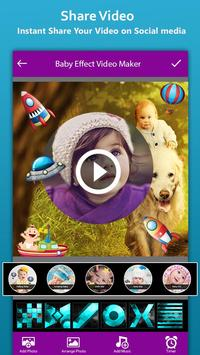 Baby Photo Effect Video Maker : Photo Animation screenshot 5