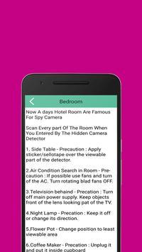 Bug detector - Spy device detector screenshot 14