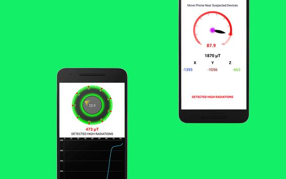 Bug detector - Spy device detector screenshot 2