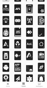 Monotone - Dark Icon Pack screenshot 3