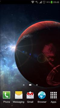 Space Symphony 3D Pro LWP screenshot 5