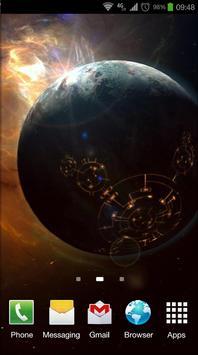 Space Symphony 3D Pro LWP screenshot 7